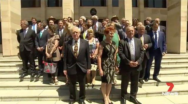 The WA One Nation candidates. Source: 7 News