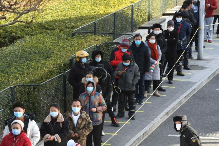 Beijing has faced international criticism over its lack of transparency during the early days of the pandemic