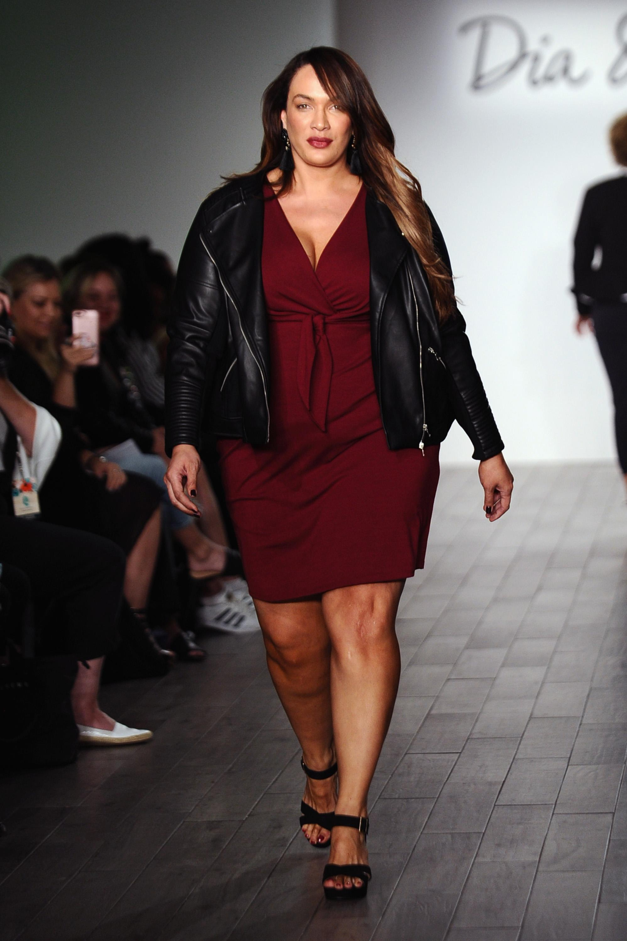 Nia Jax, WWE star and cousin of the Rock, wows crowd in 'amazingly empowering' fashion show Video