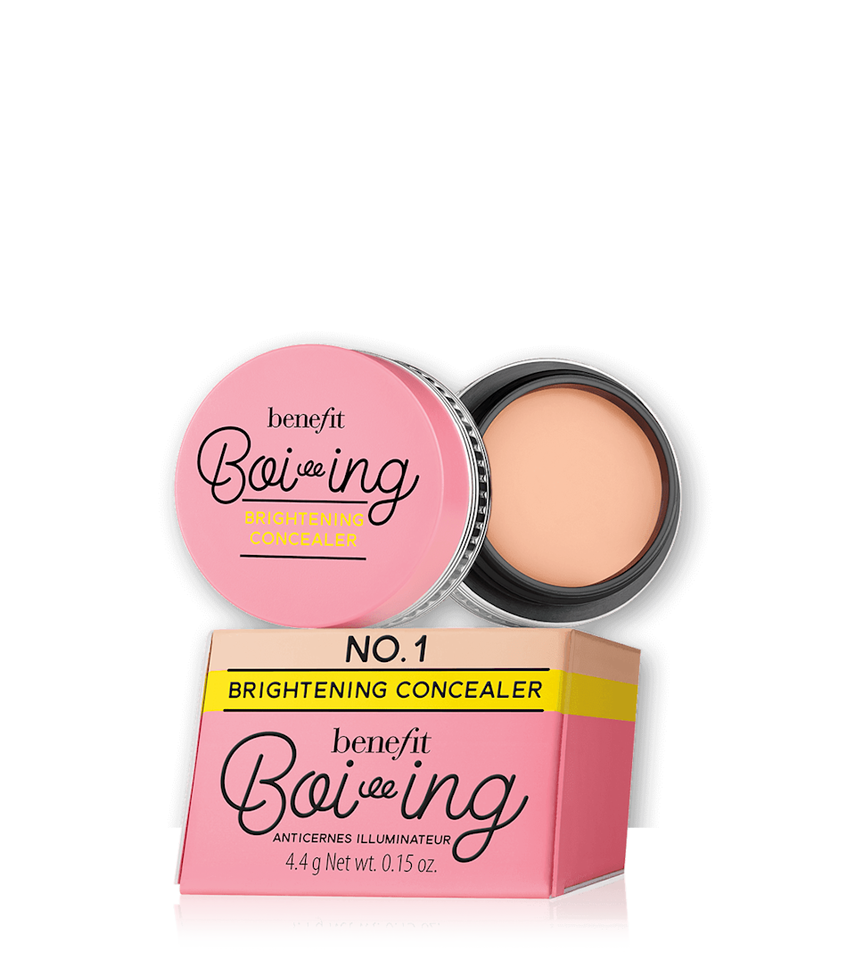 """<p><strong>Benefit Cosmetics</strong></p><p>benefitcosmetics.com</p><p><a href=""""https://go.redirectingat.com?id=74968X1596630&url=https%3A%2F%2Fwww.benefitcosmetics.com%2Fus%2Fen%2Fproduct%2Fboi-ing-brightening-concealer&sref=https%3A%2F%2Fwww.marieclaire.com%2Fbeauty%2Fg33323791%2Fbenefit-sale-july-2020%2F"""" rel=""""nofollow noopener"""" target=""""_blank"""" data-ylk=""""slk:SHOP IT"""" class=""""link rapid-noclick-resp"""">SHOP IT</a></p><p><del>$22</del><strong><br>$15</strong></p><p>If you want your colleagues to think you put some effort into getting ready each morning, add a layer of Benefit's brightening concealer to your face. See ya later, dark circles.</p>"""