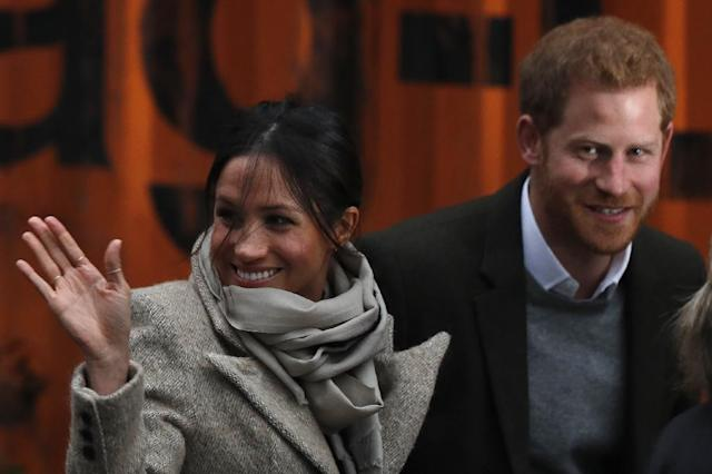 Prince Harry is due to marry his fiancee Meghan Markle in May (AFP Photo/Adrian DENNIS)