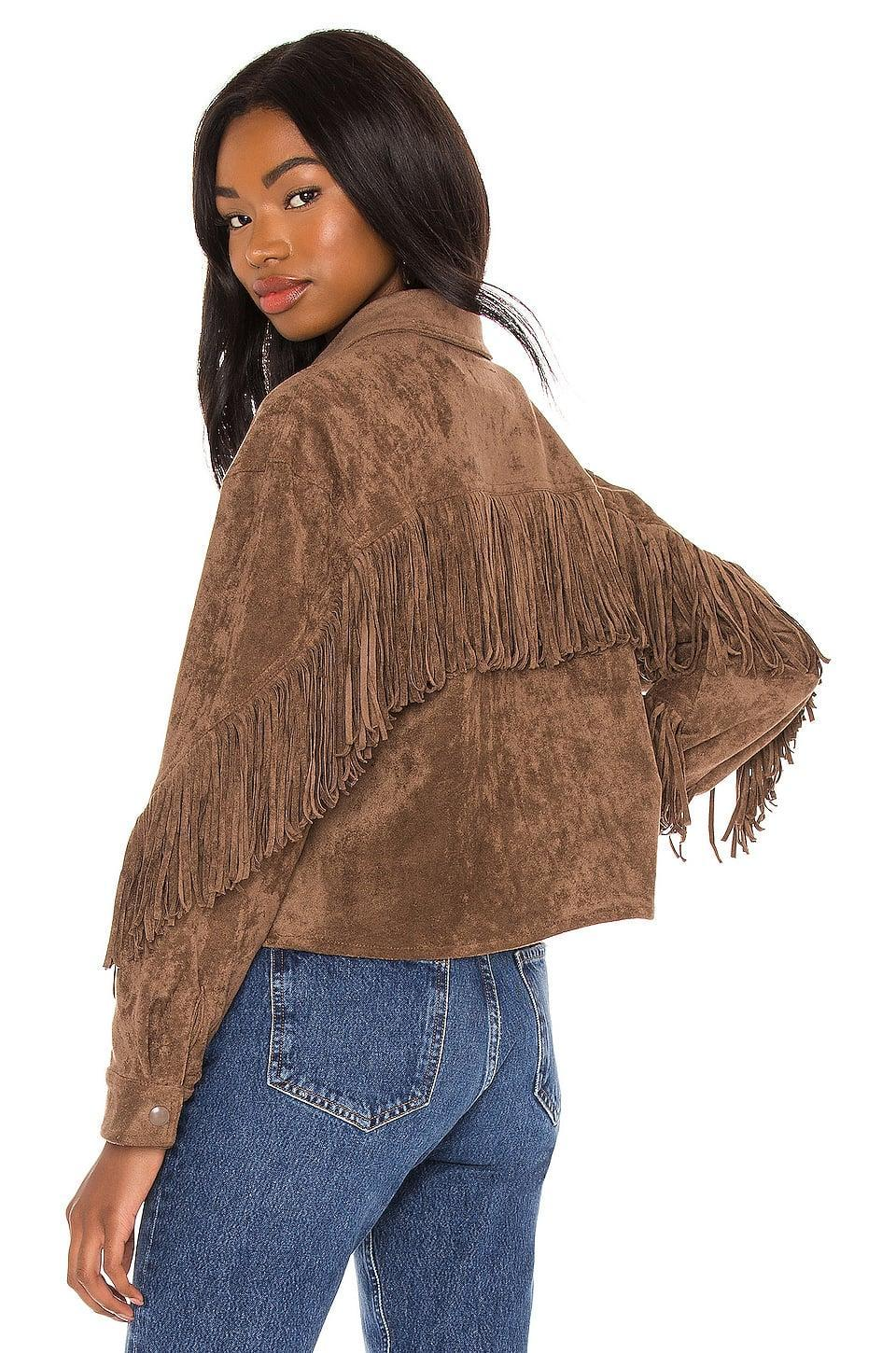 <p>If you are leaving the house, do it in this <span>BlankNYC Fringe Shacket</span> ($128). Or, you know, impress on your Zoom calls.</p>