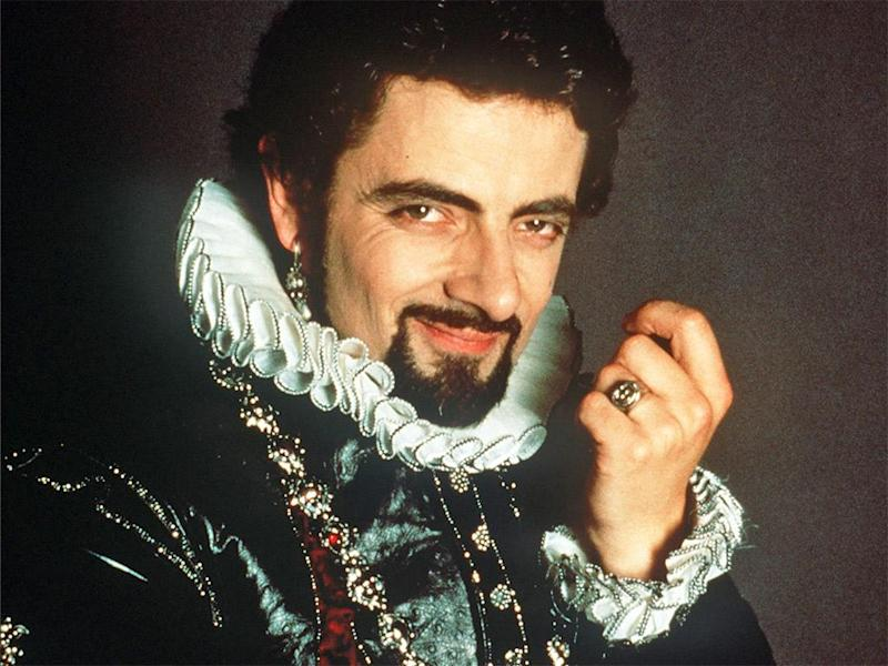 Atkinson as Edmund Blackadder in the BBC's 'Blackadder II' (BBC)