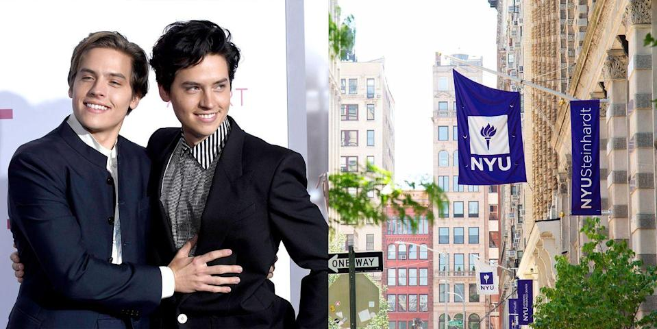 <p><strong>New York University </strong></p><p>The Sprouse brothers chose not to study acting, and attended the Gallatin School of Individualized Study, where students design their own major. Cole majored in archaeology and Dylan majored in video game design.</p>