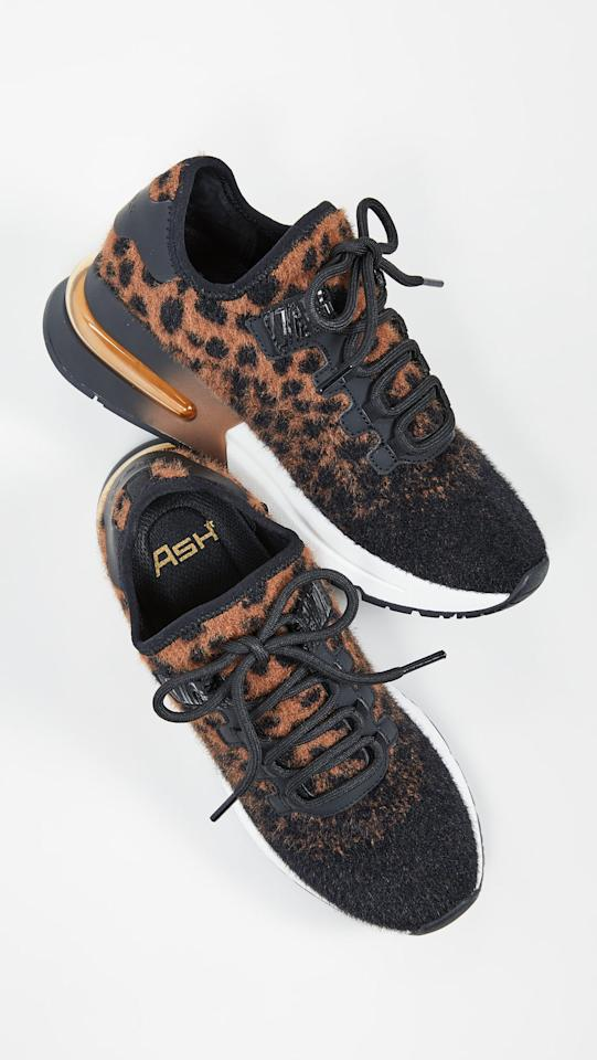 "<p>These cool <a href=""https://www.popsugar.com/buy/Ash-Krush-Sneakers-489899?p_name=Ash%20Krush%20Sneakers&retailer=shopbop.com&pid=489899&price=225&evar1=fab%3Aus&evar9=44311634&evar98=https%3A%2F%2Fwww.popsugar.com%2Ffashion%2Fphoto-gallery%2F44311634%2Fimage%2F46607503%2FAsh-Krush-Sneakers&list1=shopping%2Cshoes%2Csneakers%2Choliday%2Cgift%20guide%2Cfashion%20gifts%2Cgifts%20for%20women&prop13=api&pdata=1"" rel=""nofollow"" data-shoppable-link=""1"" target=""_blank"" class=""ga-track"" data-ga-category=""Related"" data-ga-label=""https://www.shopbop.com/krush-sneakers-ash/vp/v=1/1575632184.htm?folderID=4740&amp;fm=other-shopbysize-viewall&amp;os=false&amp;colorId=14FE1"" data-ga-action=""In-Line Links"">Ash Krush Sneakers</a> ($225) have a faux fur finish that's perfect for Fall.</p>"