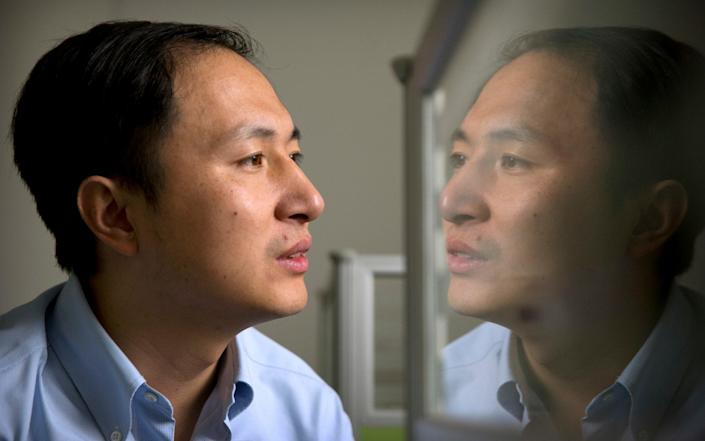 Scientist He Jiankui outraged the gene editing community with his announcement that he had used CRISPR-Cas9 to edit two embryos and then transferred them to become pregnancies. (Photo: The Telegraph)