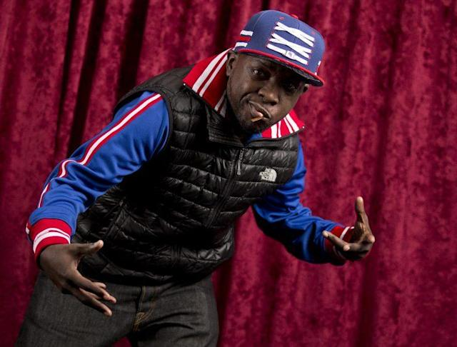 <p>A founding member of A Tribe Called Quest, Phife Dawg in New York in 2015. (Brian Ach/Invision/AP) </p>
