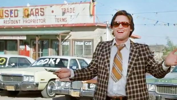 """(Photo: Kurt Russell in """"Used Cars"""")"""