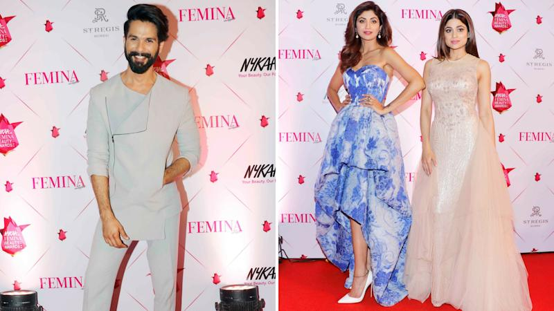 In Pics: Stars Dazzle on the Red Carpet at Awards Night