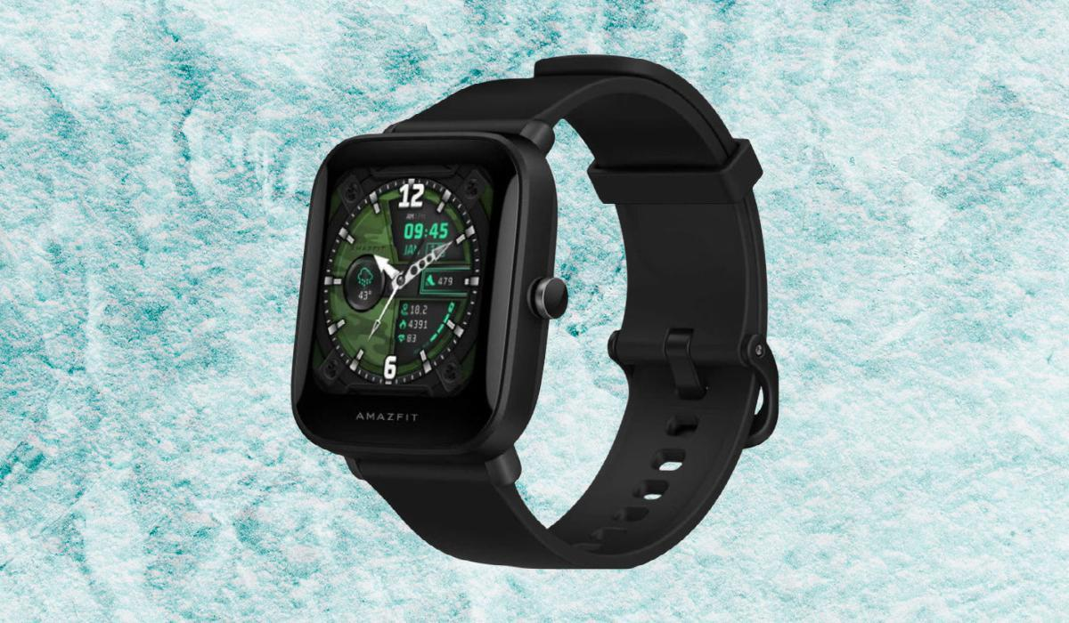 Amazfit isn't a household name and Bip U Pro just sounds weird, but don't let that stop you from strapping this $70 watch to your wrist. (Photo: Amazon)