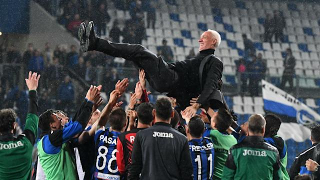 Inter followed Atalanta into the Champions League but their 2-1 win at San Siro on Sunday relegated Empoli.