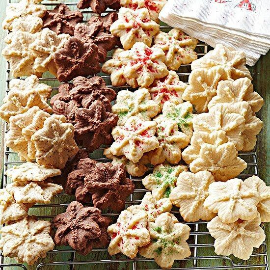 A Christmas classic than can be savored year round. Change up the flavor by adding chocolate or peppermint to these simple cookies.