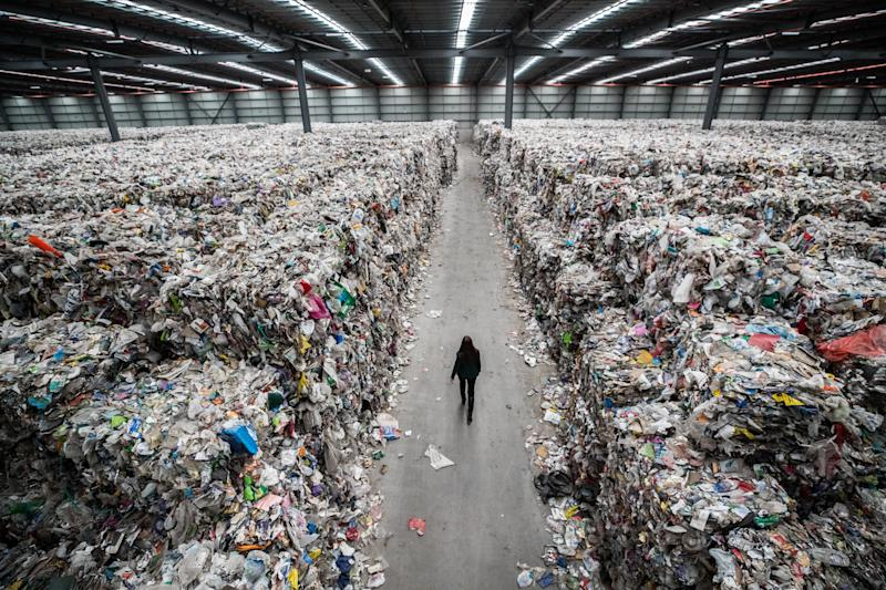 Planta recicladora en bancarrota en Melbourne (Jason South/The Age via Getty Images)