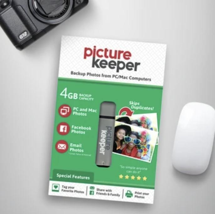 <p>If you take thousands of photos with your phone like me, then the <span>Picture Keeper Photo Backup</span> ($30 and up) is an absolute must. This backup USB storage system is unique because you can plug it directly into your phone or tablet and it downloads all of your photos. The best part? It keeps your photos arranged within their designated album. This is great gift for moms and dads who don't want to lose those special digital moments.</p>