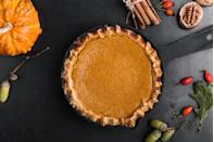 "<p>Christmas in New Hampshire is just about as traditional as it's going to get. Pretty much everything—but especially dessert—is something you would've seen on a Christmas table decades and decades ago.</p><p>Get the <a href=""https://www.delish.com/cooking/recipe-ideas/recipes/a55688/easy-homemade-pumpkin-pie-recipe-from-scratch/"" rel=""nofollow noopener"" target=""_blank"" data-ylk=""slk:recipe"" class=""link rapid-noclick-resp"">recipe</a>.</p>"