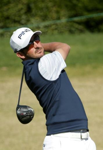 American Andrew Landry shared the lead after Saturday's third round of the US PGA American Express tournament