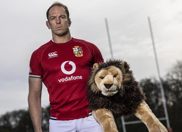 Alun Wyn Jones is captain of the tour to South Africa