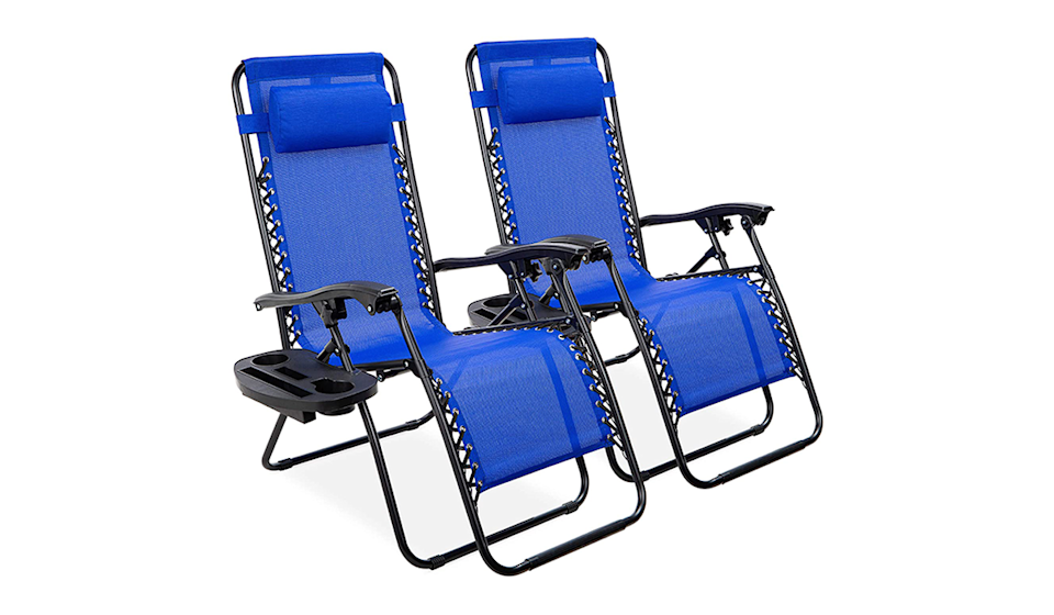 Amazon's No. 1 bestselling loungers take your relaxation seriously. (Photo: Amazon)