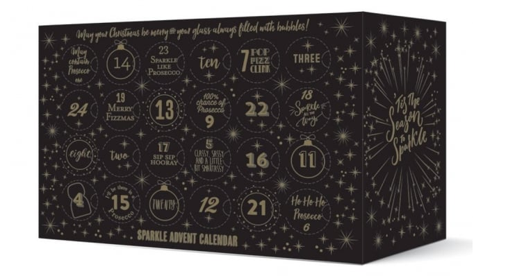 """<p><a rel=""""nofollow"""" href=""""https://www.thepipstop.co.uk/gifts-c1/other-gifts-c111/advent-calendars-c81/the-pip-stop-superstar-sparkling-wine-advent-calendar-pre-order-p772"""">SHOP NOW</a> $159</p><p><strong>Best for: </strong>A U.K.-based bubbly lover, because this genius calendar only ships across the pond.</p><p><strong>What's inside: </strong>6.8-ounce bottle of sparkling wines, including Prosecco, cava, Champagne, and sparkling rosé. </p>"""