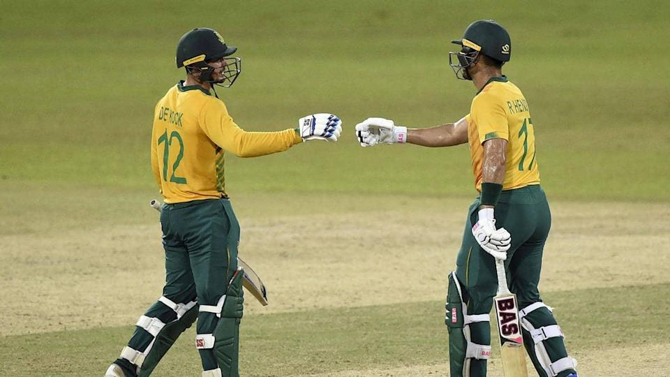 South Africa take 2-0 lead in T20Is against Sri Lanka