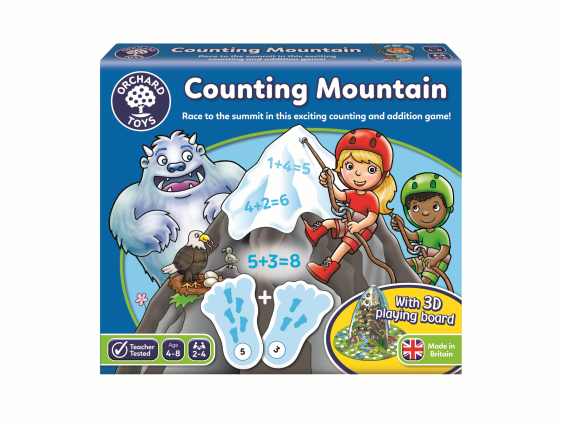 Climb the mountain to be victorious in this game for kids (Orchard Toys)