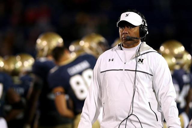 Navy finished 9-5 in 2016. (Getty)