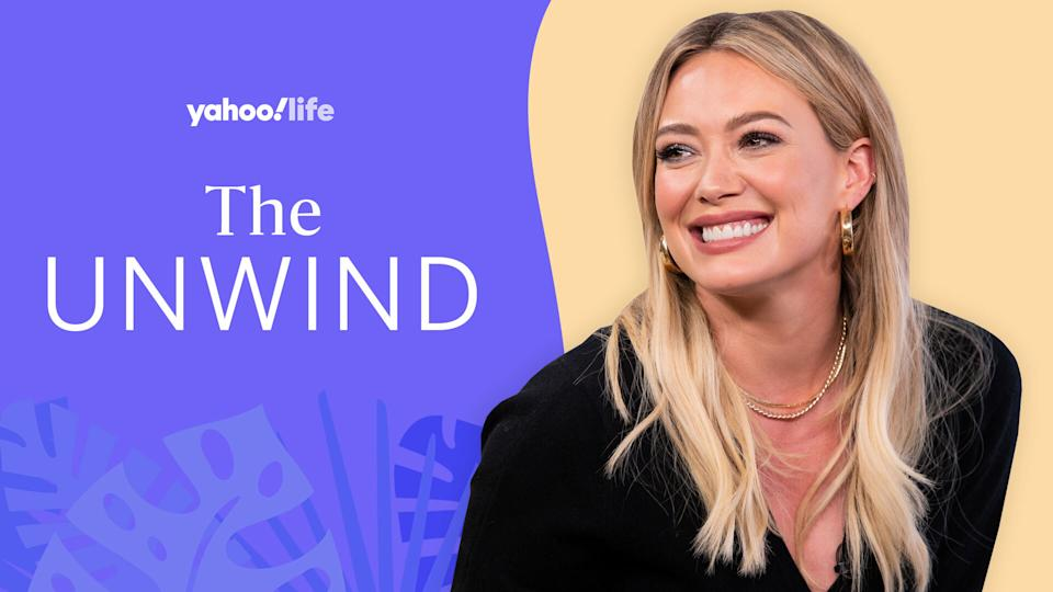 Hilary Duff opens up about parenting, finding moments of indulgence and passing on important lessons. (Photo: Getty/design by Quinn Lemmers)