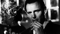 <p> Liam Neeson puts in a shrewd performance as the famous German businessman Oskar Schindler, who saved thousands of Polish Jews during the Holocaust by employing them in his factories. Steven Spielberg attempted to pass the project onto his colleagues Martin Scorsese and Roman Polanski, but they didn't feel up to the challenge, and in the end Spielberg pulled it off. Schindler's poignant story set the bar for Neeson who tackled the role with conviction, resulting in an Oscar nomination. </p>