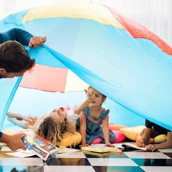 Buh-Bye, Messy Couch Fort! This Inflatable One Fills With Air in Just Seconds