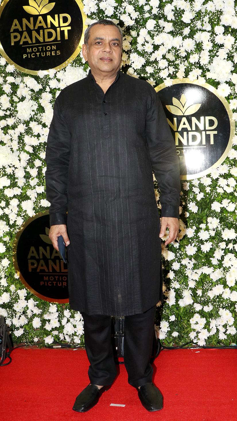 Paresh Rawal attends the party.