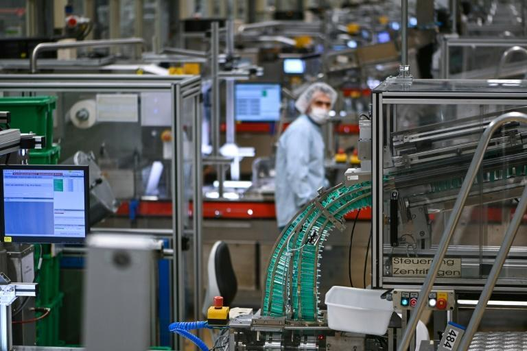 One German factory is already busily churning out the little plastic tubes and is confident global needs can be met