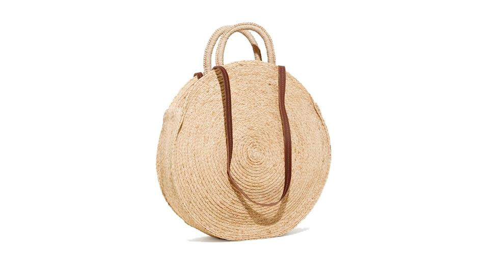 """<p>Planning an Easter get-away? Before you jet off, make sure to check out & Other Stories' collection of seriously-covetable straw numbers. <em><a href=""""https://www.stories.com/gb/Bags/New_in_bags/Straw_Circle_Bag/122860780-0581413001.2"""" rel=""""nofollow noopener"""" target=""""_blank"""" data-ylk=""""slk:& Other Stories"""" class=""""link rapid-noclick-resp"""">& Other Stories</a>, £49 </em> </p>"""