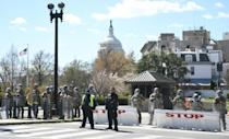 Two Capitol Police officers were injured, and one later died, after being rammed by the vehicle