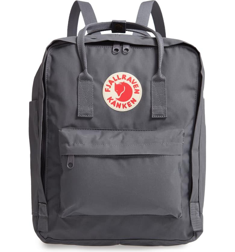 Fjällräven Kånken Water Resistant Backpack in super grey