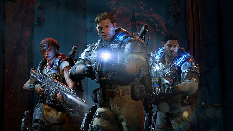 Microsoft's Gears of War 4.