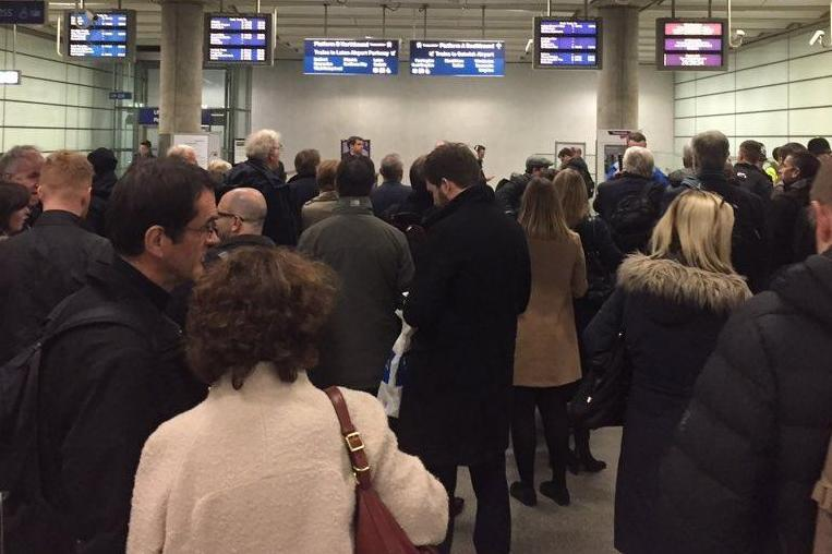 Commuters are being warned of disruption to Thameslink services (file image): @blogbykobrak / Twitter