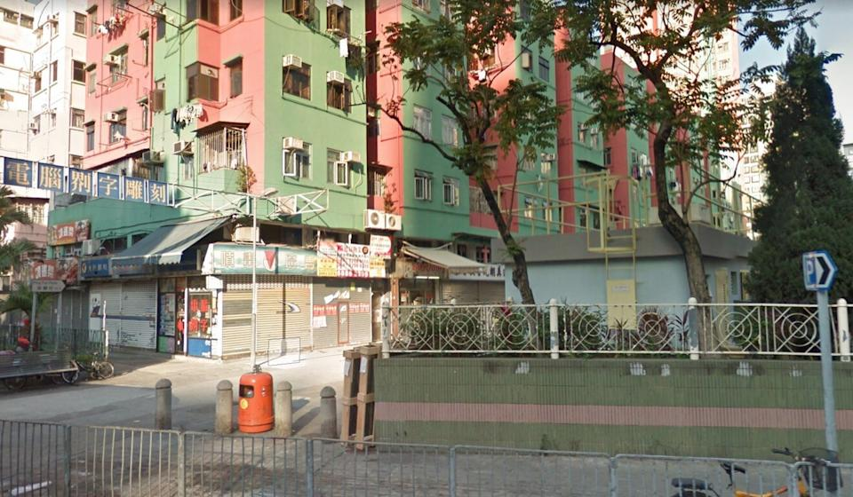 The off-duty officers had been at a restaurant on Ping Fai Path in Yuen Long. Photo: Google Map