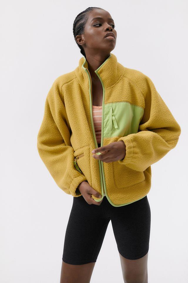 """<h2>Urban Outfitters Stormy Plush Fleece Jacket</h2><br>""""On my quest for the perfect fall fleece, I stumbled across this funky Urban Outfitters number that's attractively priced at under-100 buckaroos. Although it comes in three other poppy colors (like neon orange and bubblegum pink), I am particularly taken with this faded-khaki green. The style and cut reminds me of a Sandy Liang meets Patagonia (aka the perfect balance of trendy-sporty) and I plan to wear it with wide-leg jeans, chunky boots, and a comfy tee."""" <em>– Elizabeth Buxton, Deputy Director</em> <br><br><em>Shop <a href=""""https://www.urbanoutfitters.com/"""" rel=""""nofollow noopener"""" target=""""_blank"""" data-ylk=""""slk:Urban Outfitters"""" class=""""link rapid-noclick-resp"""">Urban Outfitters</a></em><br><br><strong>Urban Outfitters</strong> Stormy Plush Fleece Jacket, $, available at <a href=""""https://go.skimresources.com/?id=30283X879131&url=https%3A%2F%2Fwww.urbanoutfitters.com%2Fshop%2Fuo-stormy-plush-fleece-jacket%3Fcolor%3D030%26type%3DREGULAR%26quantity%3D1"""" rel=""""nofollow noopener"""" target=""""_blank"""" data-ylk=""""slk:Urban Outfiiters"""" class=""""link rapid-noclick-resp"""">Urban Outfiiters</a>"""