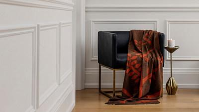 A customer favourite, the Cashmere Throw is reimagined in a new Sicilian Chestnut colour