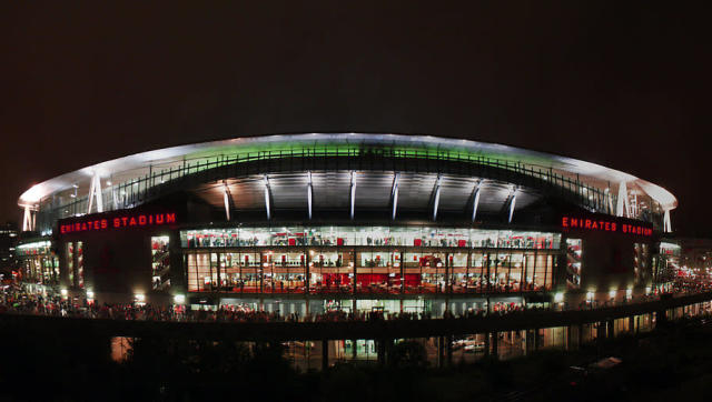 <p><strong>Stadium name: Emirates Stadium</strong></p> <p><strong>Year moved in: 2006</strong></p> <p><strong>Capacity: 60,432</strong></p> <br><p>The Gunners moved into the Emirates from their famous Highbury stadium back in 2006, and embarked on a trophy less run lasting nine years, something that many Arsenal fans associated with the switch in stadiums. </p> <br><p>Despite the on-field stagnation of the team and on-going behind the scenes issues at board level, the Emirates is a phenomenal, modern stadium and boasts some of the most impressive facilities in England. </p>