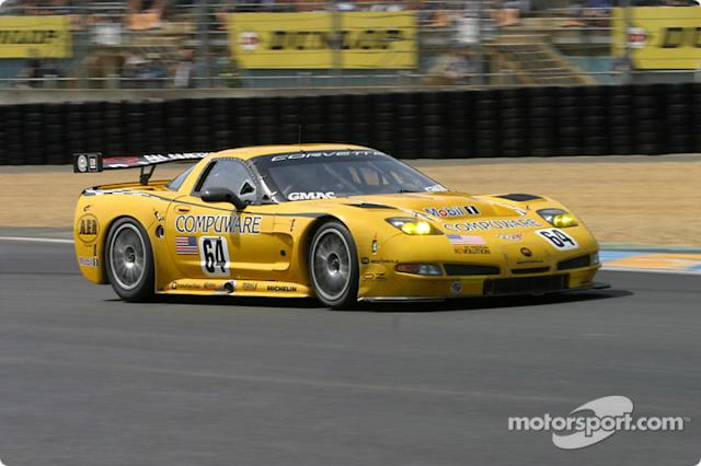 "2004: #64 Corvette Racing Corvette C5-R: Ron Fellows, Johnny O'Connell, Max Papis <span class=""copyright"">Pierre Barrau</span>"
