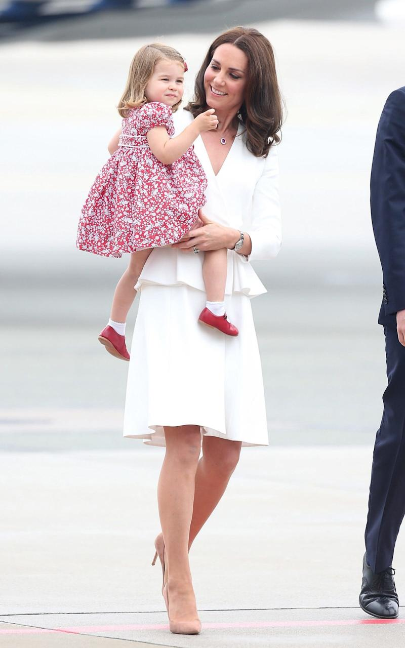 The Duchess of Cambridge wearing Alexander McQueen  - GC Images