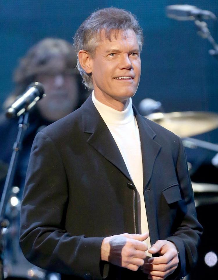 PASADENA, CA - DECEMBER 07:  Singer Randy Travis onstage at the American Giving Awards presented by Chase held at the Pasadena Civic Auditorium on December 7, 2012 in Pasadena, California.  (Photo by Frederick M. Brown/Getty Images)