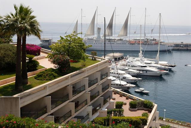 Luxury boats are moored in Monte Carlo, Monaco, July 2, 2009. The world's top 1 percent owns more than half of the world's household wealth.
