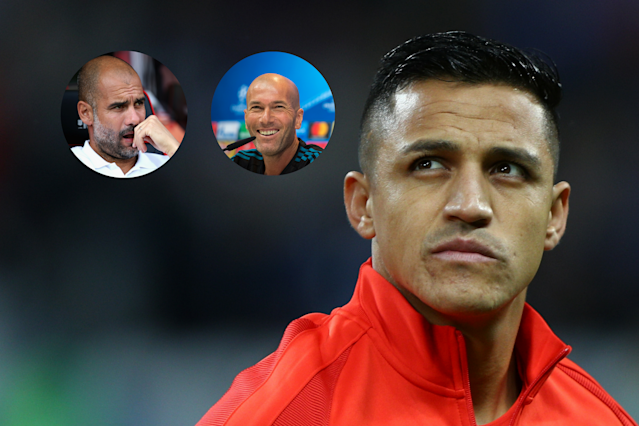 Wants out: Alexis Sanchez has a decision to make