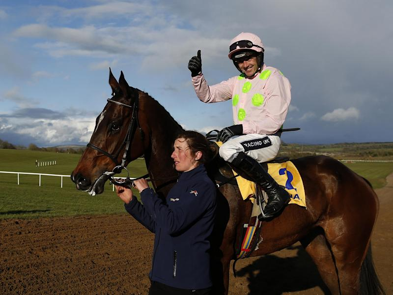 Douvan is the favourite for the Queen Mother Champion Chase: Getty