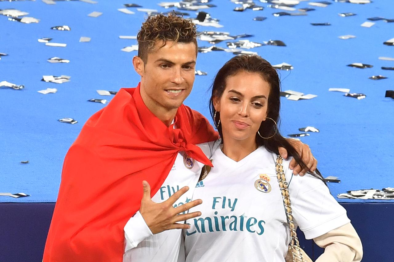 <p>The Spanish model and Ronaldo have been dating since 2016 and have one daughter together, alongside Ronaldo's three other children (Getty Images) </p>