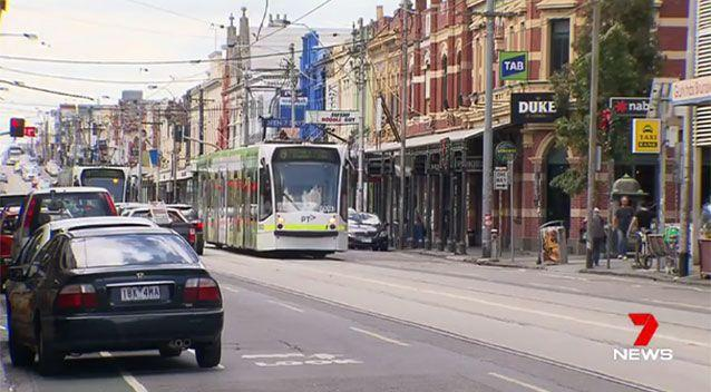 Melbourne's Sydney Road in Brunswick. Source: 7 News