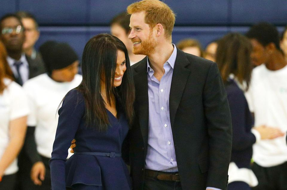 """<p>The Queen called Prince Harry and said she was """"delighted"""" he had found happiness with Meghan. </p> (PA)"""