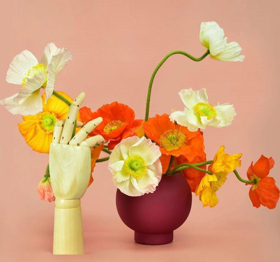 buunch delivery poppie flowers